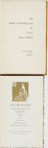Books:Literature Pre-1900, Oscar Wilde. Two Editions of The Ballad of Reading Gaol.Various publishers and dates. ... (Total: 2 Items)