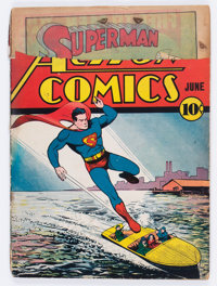 Action Comics #25 (DC, 1940) Condition: FR