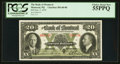 Canadian Currency: , Montreal, PQ- Bank of Montreal $20 Jan. 2, 1935 Ch. # 505-60-06....