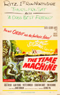 """Movie Posters:Science Fiction, The Time Machine (MGM, 1960). Window Card (14"""" X 22"""").. ..."""