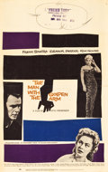 "Movie Posters:Drama, The Man with the Golden Arm (United Artists, 1955). Window Card(14"" X 22"").. ..."