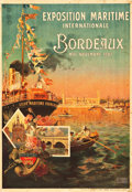 "Movie Posters:Miscellaneous, International Maritime Exposition, Bordeaux, France Travel Poster(Minot, Paris, 1907). Poster (29.25 X 41.75"").. ..."