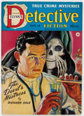 Pulps:Detective, Detective Fiction Weekly V148#4 (Red Star Magazine, 1941)Condition: FN....