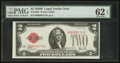 Small Size:Legal Tender Notes, Fr. 1503 $2 1928B Legal Tender Note. PMG Uncirculated 62 EPQ.. ...
