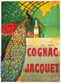 "Movie Posters:Miscellaneous, Cognac Jacquet French Advertising Poster (Vercasson, Paris, c.1910). Poster (45.25"" X 61"").. ..."