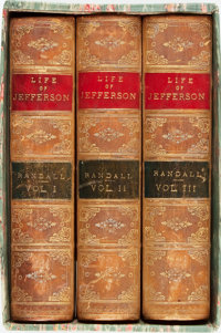 Henry S. Randall. The Life of Thomas Jefferson, Vols. I-III. New York: Derby & Jacks