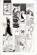 Original Comic Art:Panel Pages, George Perez and Romeo Tanghal New Teen Titans V2#4 Page 9Wonder Girl Original Art (DC, 1985)....
