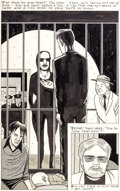"""Original Comic Art:Panel Pages, Daniel Clowes Blab! #5 """"One for the Father"""" Page OriginalArt (Kitchen Sink Press, 1990)...."""