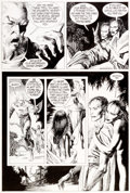 "Original Comic Art:Panel Pages, Kevin Nowlan Dalgoda ""Grimwood's Daughter"" Story Page 4Original Art (Fantagraphics, 1984)...."