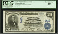 National Bank Notes:Maryland, Baltimore, MD - $20 1902 Plain Back Fr. 658 The Merchants NB Ch. #1413. ...