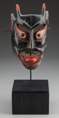 American Indian Art:Wood Sculpture, Devil (Diablo) Mask, Mexican or Guatemalan. 20th c.... (Total: 2Items)