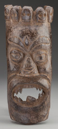 Tribal Art, Mask, Northern Nepal. Tamang People...