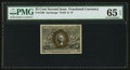 Fractional Currency:Second Issue, Fr. 1286 25¢ Second Issue PMG Gem Uncirculated 65 EPQ.. ...