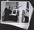 "Baseball Collectibles:Photos, Stan Musial Signed Oversized ""LBJ"" Photographs Lot of 10...."