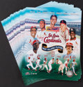 Baseball Collectibles:Photos, Stan Musial Signed Prints Lot of 50....