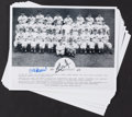 Baseball Collectibles:Photos, Stan Musial Signed Photographs Lot of 20....