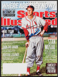 Autographs:Baseballs, Stan Musial Signed Sports Illustrated Magazine....