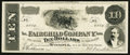 Canadian Currency: , Winnipeg, MB - The Fairchild Company Limited $10 Advertising Note....