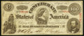 Confederate Notes:1863 Issues, CT56/403 Counterfeit $100 1863.. ...