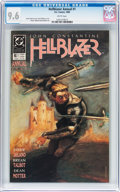 Modern Age (1980-Present):Horror, Hellblazer Annual #1 (DC, 1989) CGC NM+ 9.6 White pages....