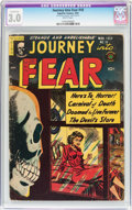 Golden Age (1938-1955):Horror, Journey Into Fear #18 (Superior Comics, 1954) CGC Conserved GD/VG3.0 White pages....