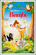 "Movie Posters:Animation, Bambi (Buena Vista, R-1988). One Sheet (27"" X 41""). Animation.. ..."