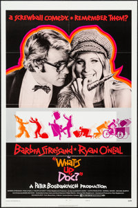 """What's Up, Doc? & Other Lot (Warner Brothers, 1972). One Sheets (2) & Album Poster (27"""" X 41"""") Color &..."""