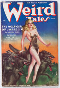 Pulps:Horror, Weird Tales - August 1938 (Popular Fiction) Condition: GD/VG....