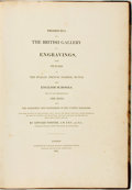 Books:Art & Architecture, Edward Forster. Prospectus of the British Gallery of Engravings, from Pictures of the Italian, French, Flemish, Dutch, a...