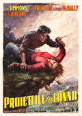 """Movie Posters:Action, A Bullet is Waiting (Columbia, 1955). Italian 4 - Foglio (55"""" X78"""").. ..."""