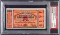Miscellaneous Collectibles:General, 1929 Indianapolis 500 Ticket Stub, PSA Authentic....