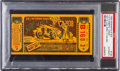 Miscellaneous Collectibles:General, 1938 Indianapolis 500 Ticket Stub, PSA Authentic....