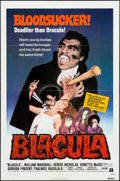 "Movie Posters:Blaxploitation, Blacula (American International, 1972). One Sheet (27"" X 41""). Blaxploitation.. ..."