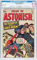 Silver Age (1956-1969):Superhero, Tales to Astonish #35 (Marvel, 1962) CGC VF 8.0 Off-white to whitepages....