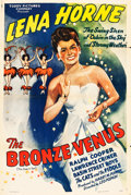 "Movie Posters:Black Films, The Bronze Venus (Toddy Pictures, R-1943). One Sheet (27"" X 41""). Black Films. Original title: The Duke is Tops.. ..."