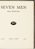 Books:Biography & Memoir, Max Beerbohm. Seven Men. New York: Alfred A. Knopf, 1920. First American edition, limited to two thousand copies...