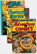 Golden Age (1938-1955):Miscellaneous, Golden Age Miscellaneous Comics Group of 9 (Various Publishers, 1950s) Condition: Average FR.... (Total: 9 Comic Books)