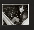 Miscellaneous Collectibles:General, 1937 Amelia Earhart Reported Missing Original News Photograph,PSA/DNA Type I....