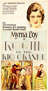 """Rogue of the Rio Grande (Sono Art-World Wide Pictures, 1930). Three Sheet (41"""" X 77"""")"""