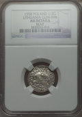 Lithuania, Lithuania: Sigismund August 1/2 Groschen 1558 AU Details (Bent)NGC,...