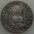 Mexico, Mexico: Charles III Pillar Dollar of 8 Reales 1762 Mo-MM VF/XF -Cleaned and Repaired,...