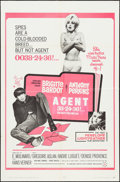 "Movie Posters:Comedy, The Ravishing Idiot (Seven Arts, 1965). One Sheet (27"" X 41""). Comedy. Alternate Title: Agent 38-24-36.. ..."