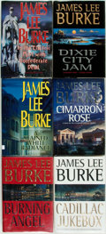 Books:Fiction, [James Lee Burke]. Group of Six SIGNED/INSCRIBED First Editions.New York: Hyperion, [various dates]. Signed and inscribed...(Total: 6 Items)