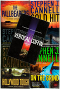 Books:Mystery & Detective Fiction, [Stephen J. Cannell]. Group of Five SIGNED First Editions. NewYork: St. Martin's Press, [various dates]. Signed by the au...(Total: 5 Items)