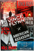 Books:Mystery & Detective Fiction, [Vince Flynn]. Group of Five SIGNED Books. Various publishers anddates. Signed by the author. ... (Total: 5 Items)