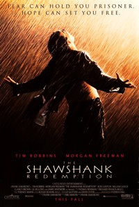 """The Shawshank Redemption (Columbia, 1994). One Sheet (27"""" X 40"""") DS Advance"""