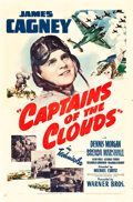 "Movie Posters:War, Captains of the Clouds (Warner Brothers, 1942). One Sheet (27"" X41""). War.. ..."