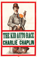 "Movie Posters:Comedy, The Kid Auto Races (Independent, R-Mid-1910s). Stock One Sheet (28""X 42.25"").. ..."