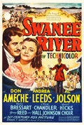 """Movie Posters:Musical, Swanee River (20th Century Fox, 1939). One Sheet (27.25"""" X 41"""") Style B.. ..."""