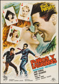 """Movie Posters:Elvis Presley, It Happened at the World's Fair (Cire Films, 1967). First ReleaseSpanish One Sheet (27"""" X 39.25""""). Elvis Presley.. ..."""